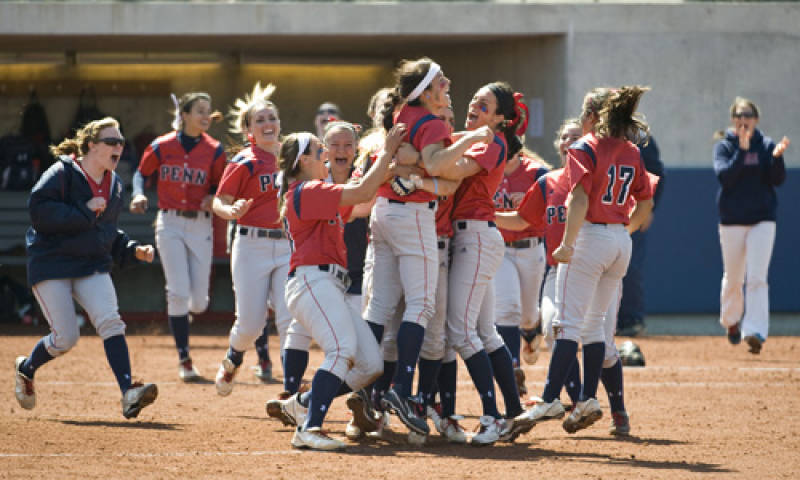 Penn softball