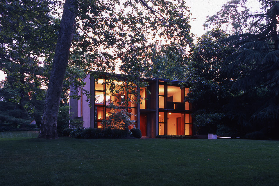 Esherick House. Photo by Bill Whitaker.