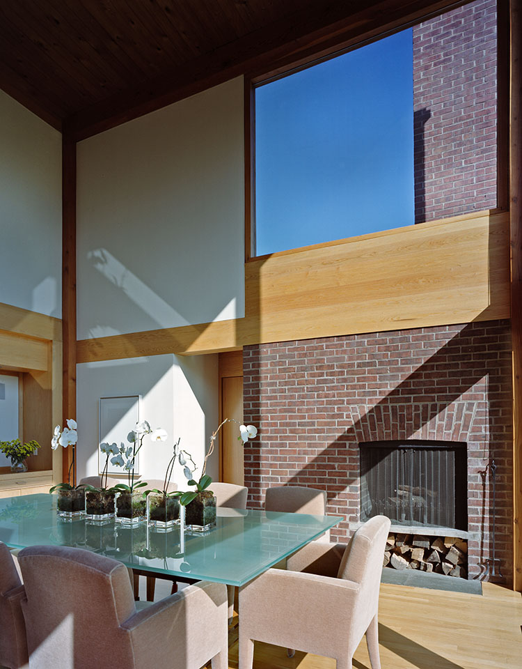 The Korman House living room.