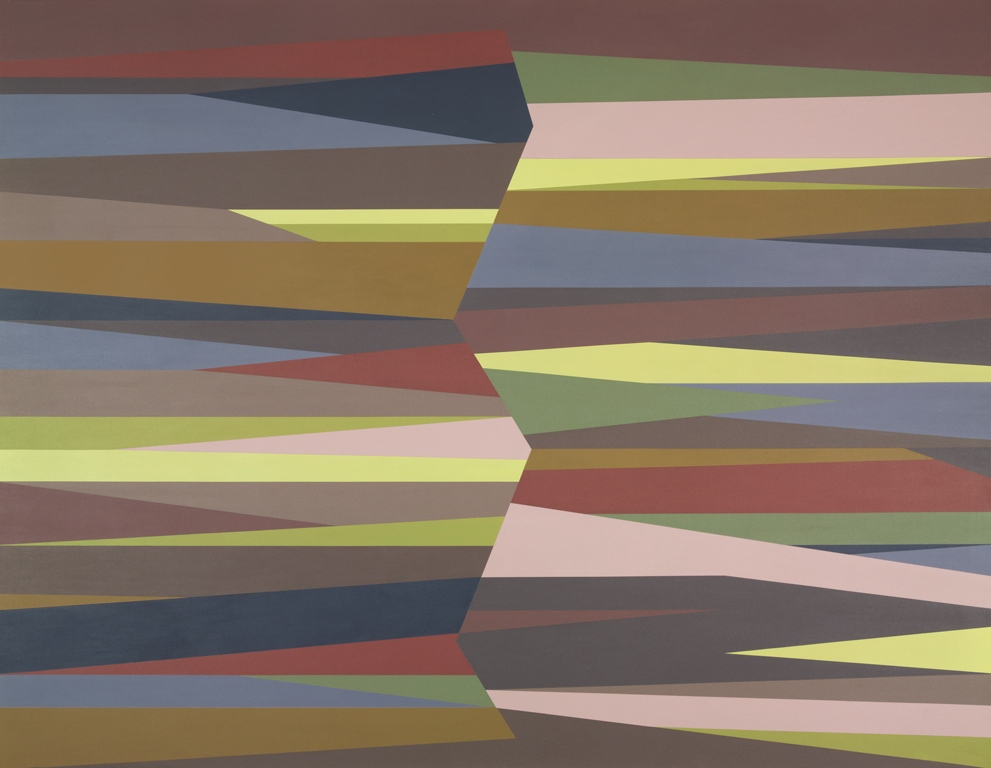 Rift, 2005, Odili Donald Odita (Philadelphia Museum of Art: Purchased with funds contributed by Jane and Leonard Korman © Odili Donald Odita)