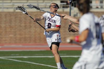 150408 University of Pennsylvania - Women's Lacrosse vs Yale