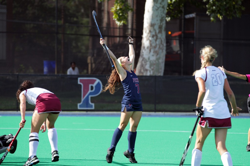 150914 University of Pennsylvania - Field Hockey vs Saint Josephs
