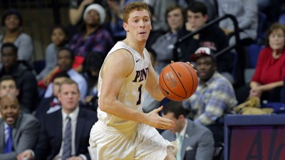 Jake Silpe enjoyed a 13-point, eight-assist, five-steal game vs. Dartmouth earlier this month.