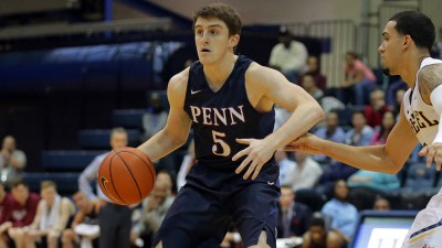 Jackson Donahue has scored in double figures in nine of Penn's last 12 games.