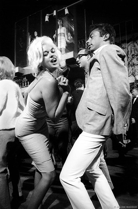Hollywood Eden: Jayne Mansfield dancing at the Whisky à Go Go (1964, Life).