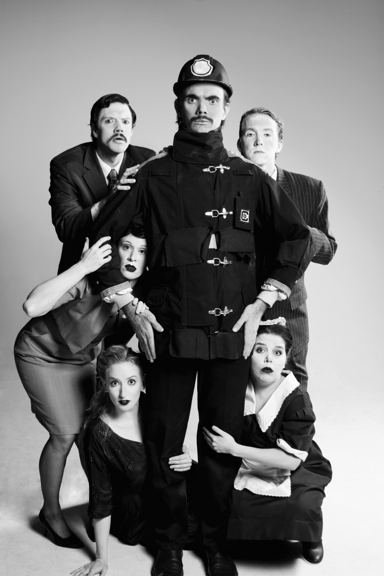 The Bald Soprano cast, image courtesy of Brat Productions