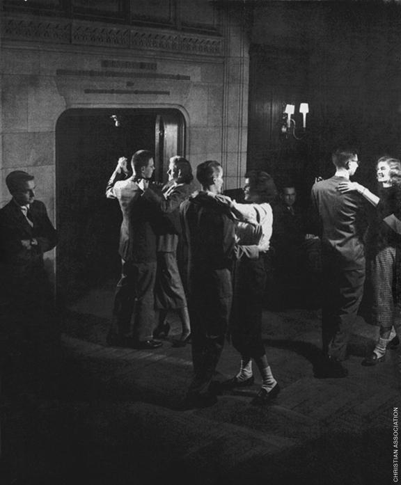 Dancing tonight, circa 1950.
