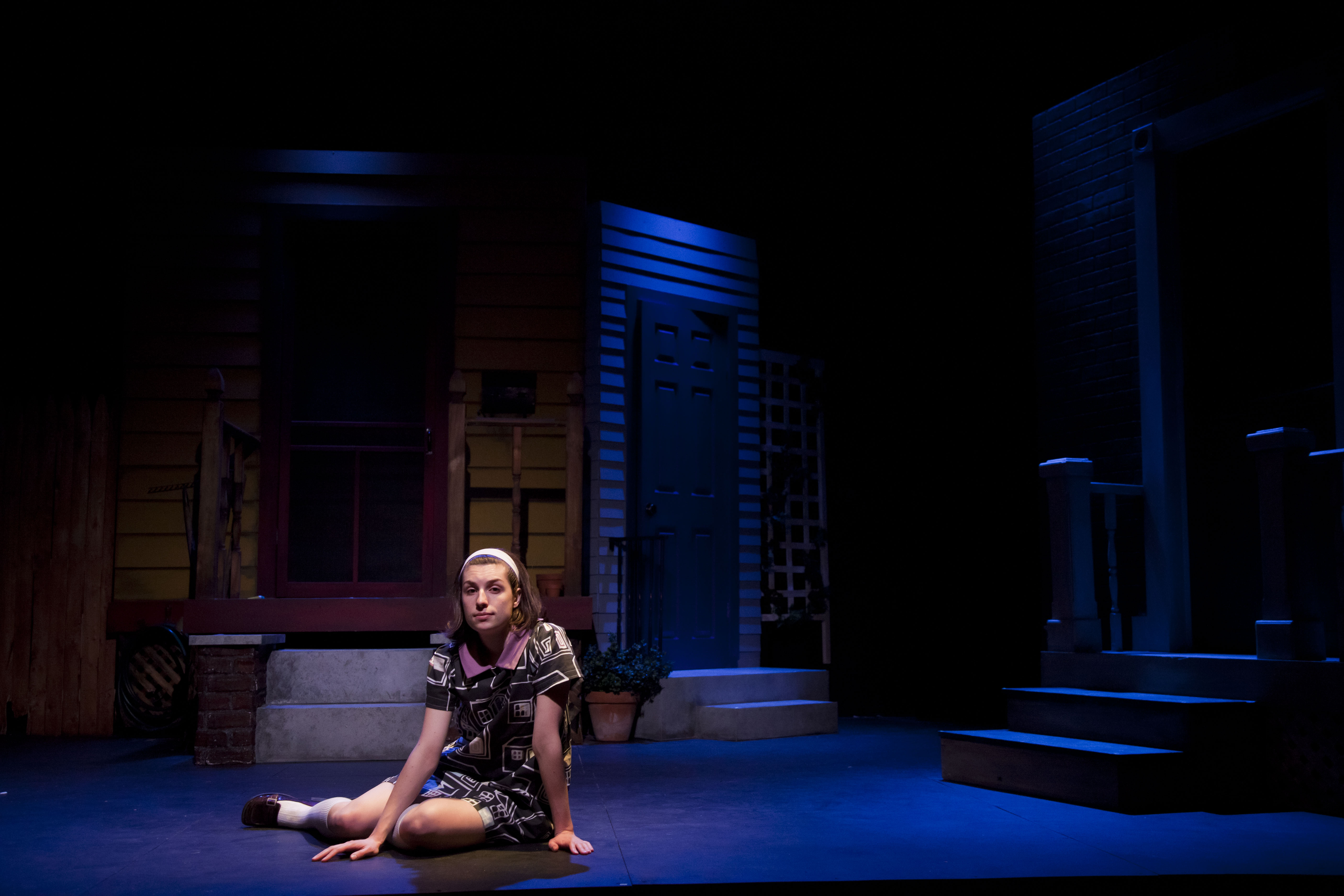 """The Good Times Are Killing Me"" set. Photo by Eric Baratta."