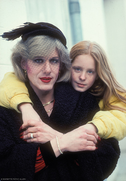 """Paula and Daughter, Rachel."" 1987. From Transformations."