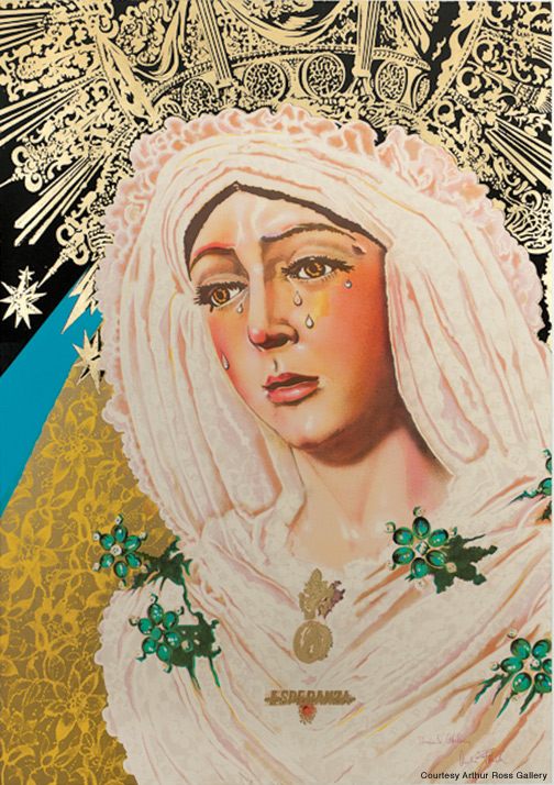 Lady Madonna by Audrey Flack.