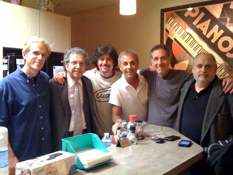 Rob Hyman, attorney Lloyd Remick, Eric Bazilian, Rick Levy, Rick Chertoff, David Kagan