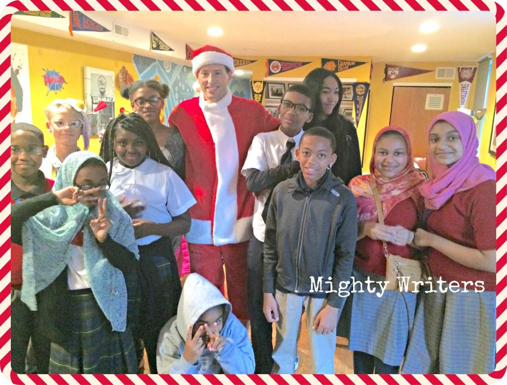 Mighty Writers and Marathon Santa