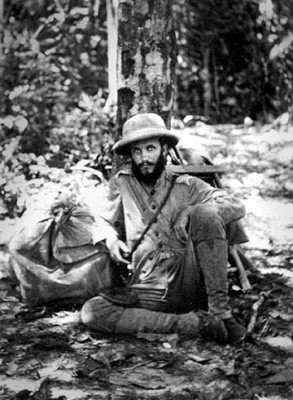 The first Kermit Roosevelt during an ill-fated 1913 expedition to the River of Doubt in the Amazon, where he saved his father Theodore Roosevelt's life.