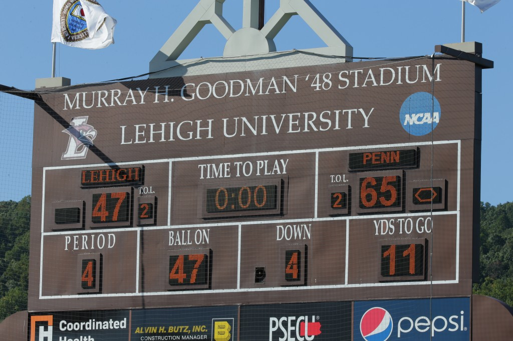 170920 University of Pennsylvania - Football at Lehigh at Goodman Stadium