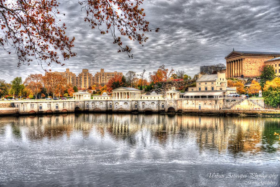 Fairmount Water Works in Philadelphia