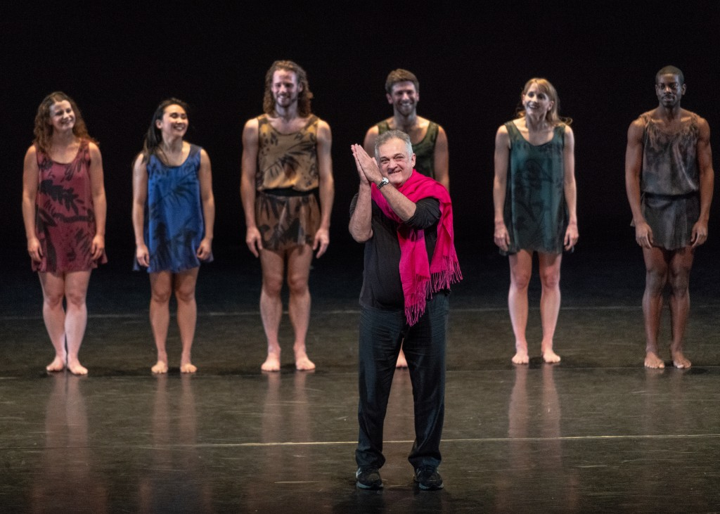 Mark Morris residency at the Annenberg Center.
