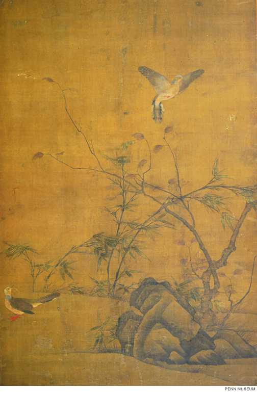 From the Penn Museum's online collection: A Pair of Doves, attributed to Yi Yuanji (active 1060s).
