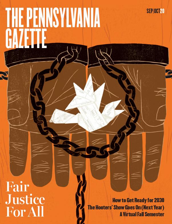 Cover of the Pennsylvania Gazette, Sept-Oct 2020 issue