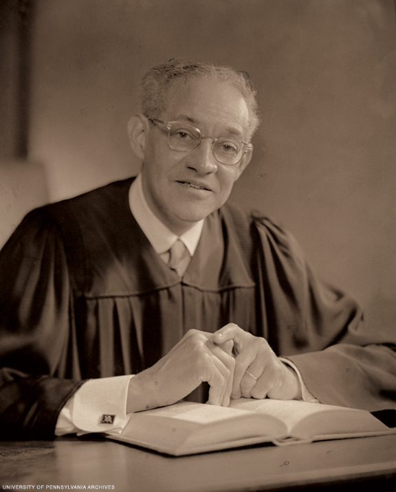 Archival photo of Raymond Pace Alexander as a judge