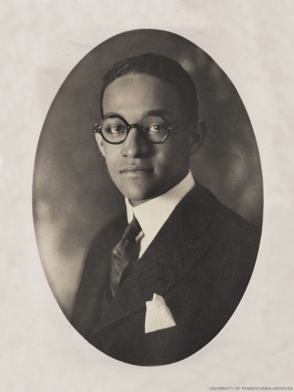 Archival photo of Raymond Pace Alexander as a student