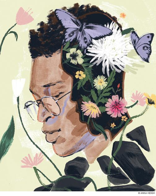 Illustration of Evan Thomas