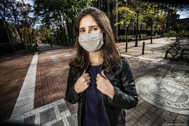 Photo of Allison Gelfarb on Penn campus
