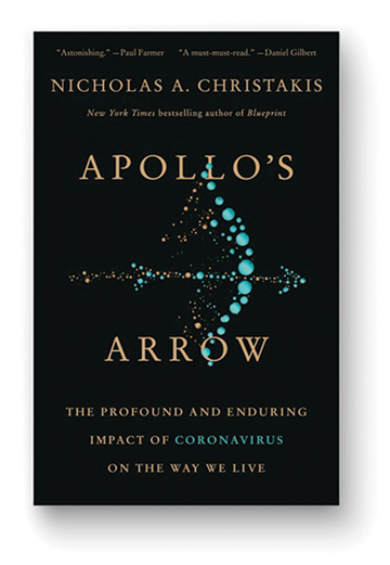 Book cover for Apollo's Arrow by Nicholas Christakis
