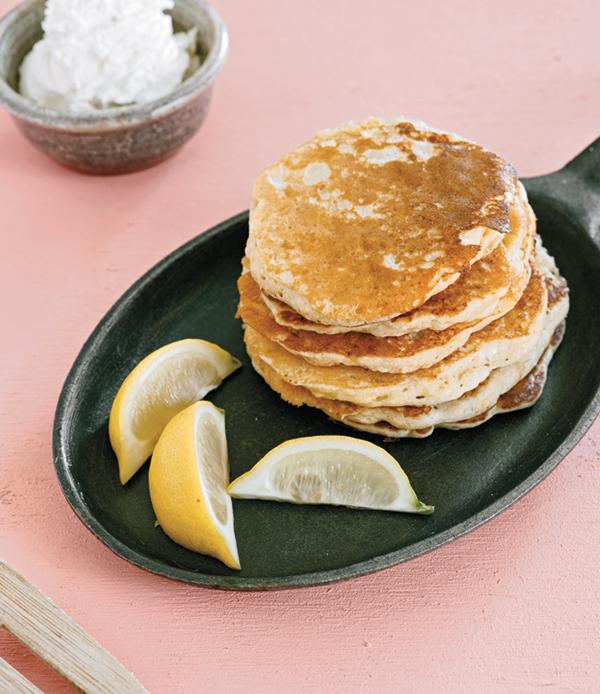 Photo of sourdough pancakes
