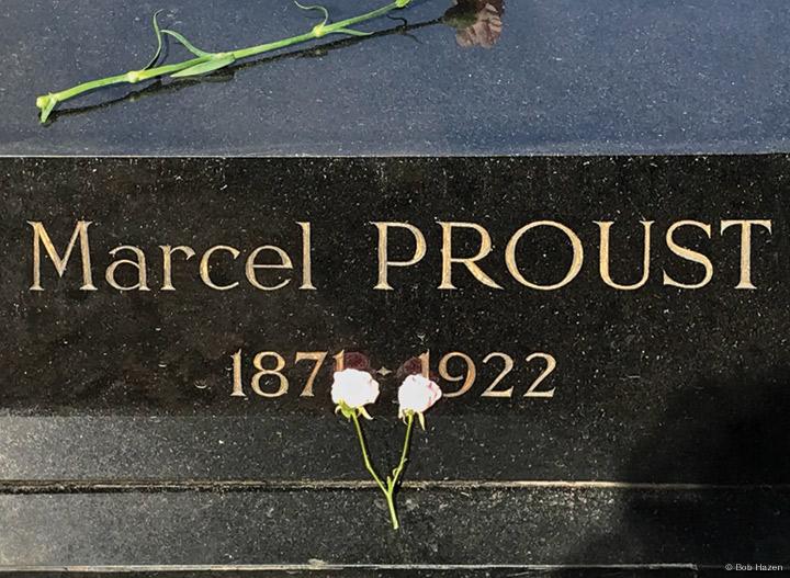 Photo of Prout's grave at Père Lachaise cemetery