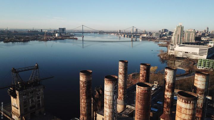 Photo of the Delaware river