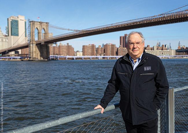 Photo of Hank Gutman at Brooklyn Bridge Park
