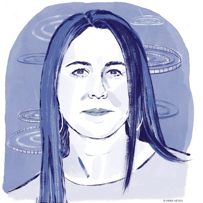 Illustrated portrait of Nikki Silver