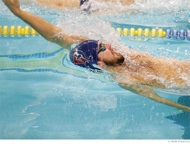 Photo of Keanan Dols, who swam for Team Jamaica.